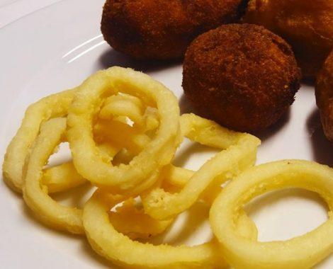 Fritos variados / menú del día